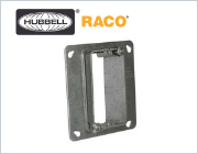 Hubbell Raco Adjustable Mud Ring